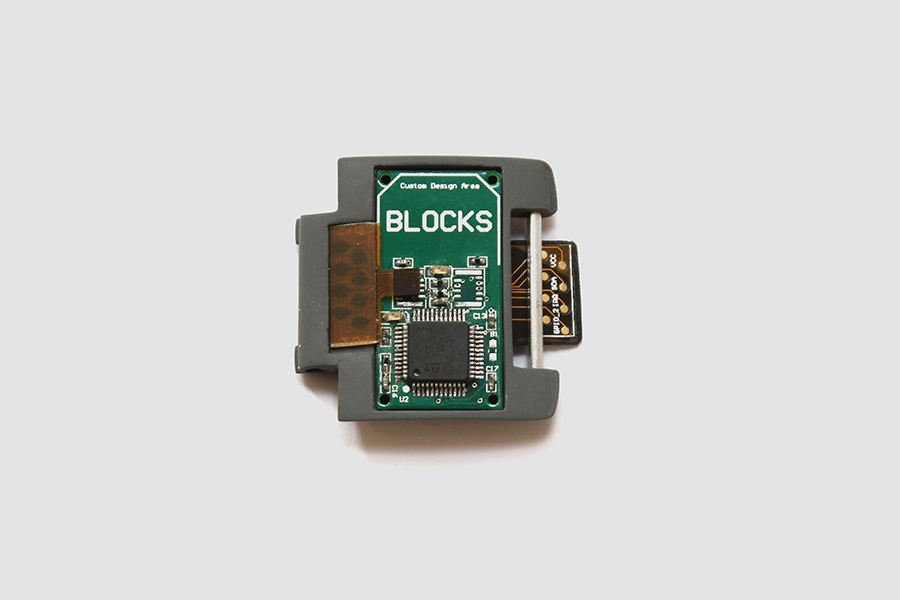 Blocks modular smartwatch module internal